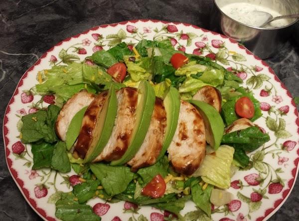 Bbq Chicken & Avocado Salad Recipe