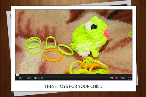 3Dのおもちゃゴムひも