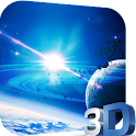 Planet 3D Video LWP icon