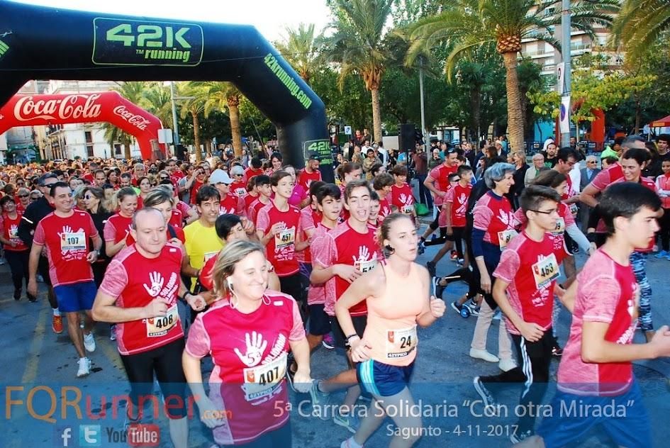 """Fotos 5ª Carrera Solidaria """"Con Otra Mirada"""" 2017 Sagunto"""