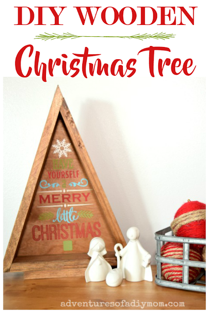 Get prepped for next Christmas with this DIY Wooden triangle Christmas tree from Adventures of a DIY Mom. See all the Best Crafts of 2018 from more of your favorite bloggers at Halfpint Design.