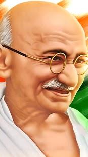 Mahátma Gándí Živé Tapety - náhled