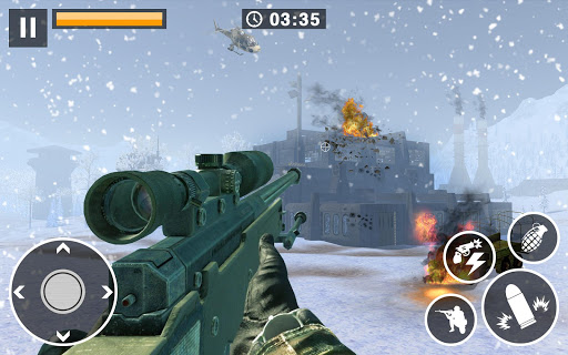 Call for War - Winter survival Snipers Battle WW2 2.0 androidappsheaven.com 4