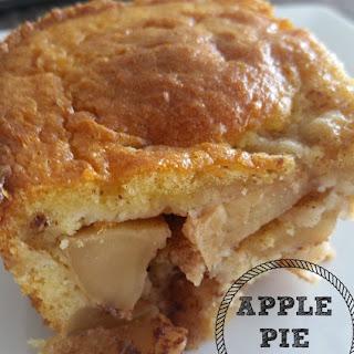 Apple Pie Cake.