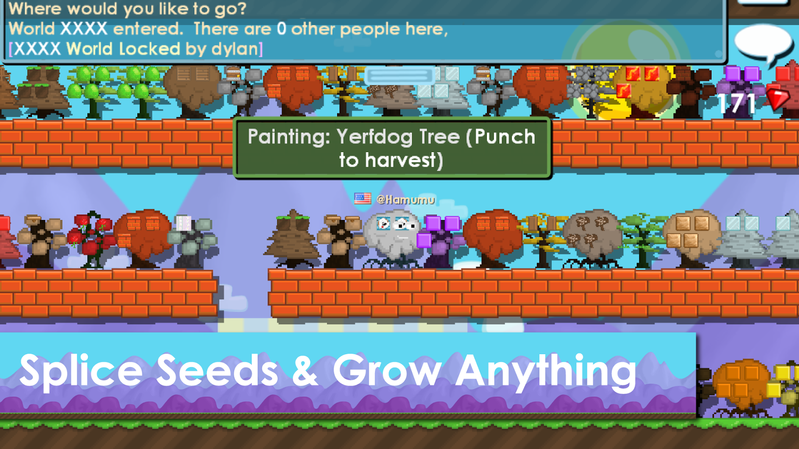 Screenshots of Growtopia for iPhone