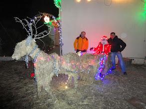 Photo: Sacré boulot toutes ces lumières. Thierry a d'ailleurs gagné le prix de la maison la mieux décorée il y a quelques années à Fréjus !