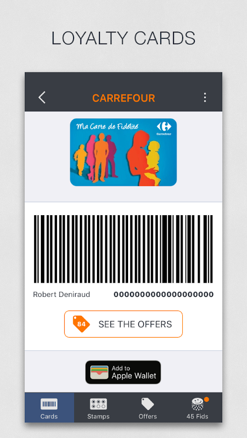fidme loyalty cards coupons android apps on google play. Black Bedroom Furniture Sets. Home Design Ideas