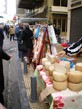 Photo: Easter - Lamb and Cheese market, Athens