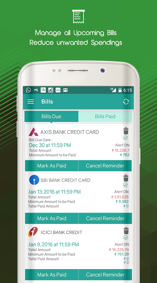 Expense Manager & Money Saver- screenshot