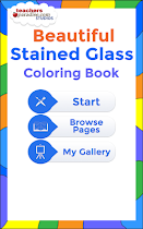Stained Glass Coloring Book - screenshot thumbnail 08