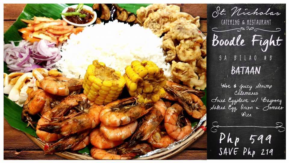 St. Nicholas Catering and Restaurant Boodle Fight