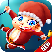 Ski Safari - Christmas Ice Run Game