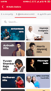 All Tamil FM Radio Stations Online Tamil FM Songs App Download for Android 8