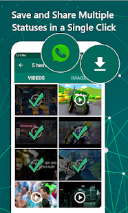 WhatsAssist: Status Saver Image & Video Downloader Screenshot