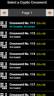 Cryptic Crosswords- screenshot thumbnail
