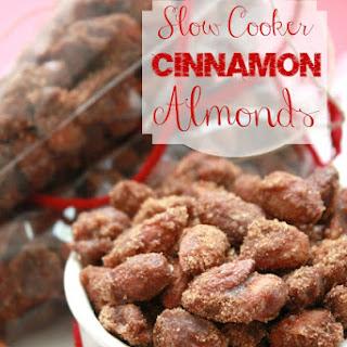 Slow Cooker Cinnamon Almonds Recipe