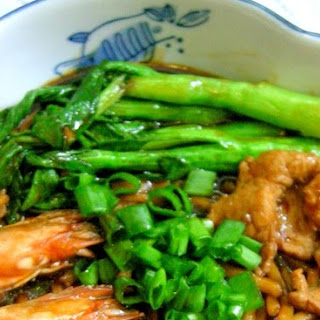 Foochow Braised Fried Noodles (Chao Zhu Mian) 炒煮面.