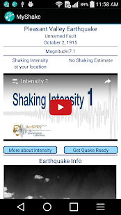 MyShake- screenshot thumbnail
