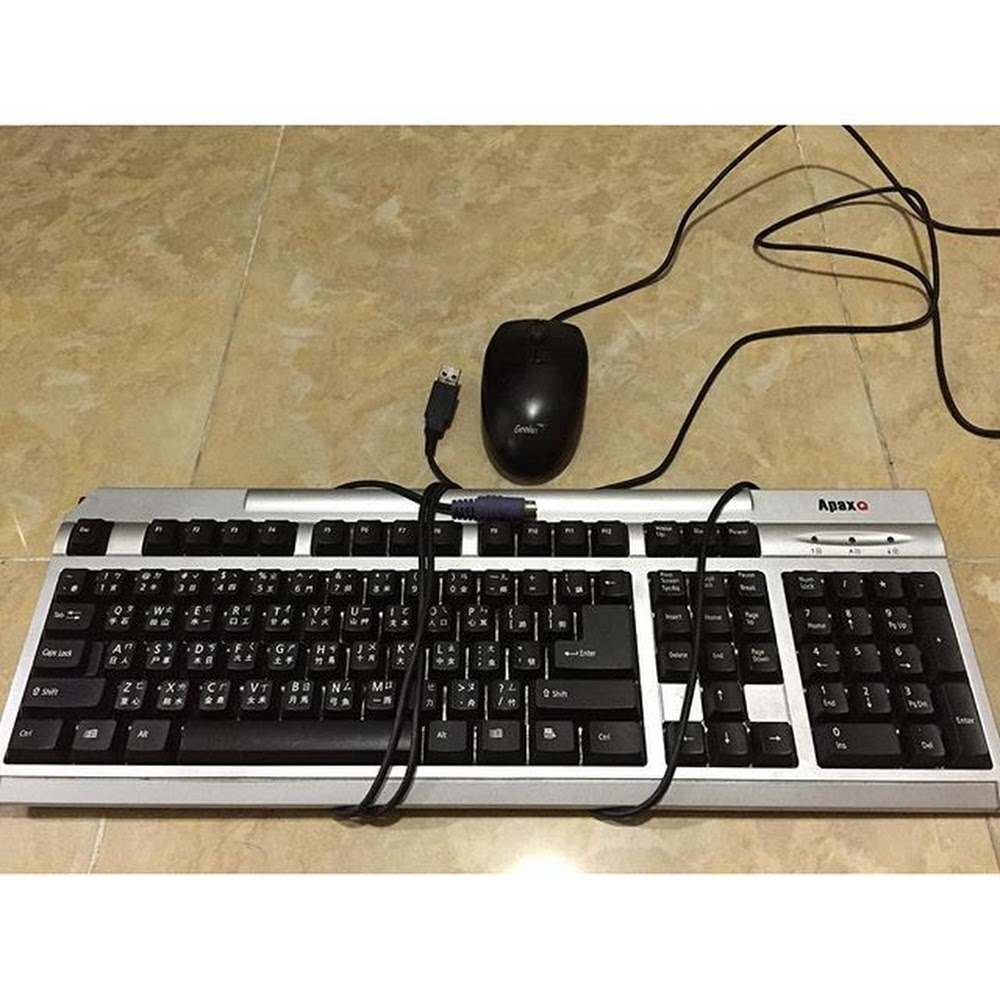Apex Keyboard + mouse Hkd$20