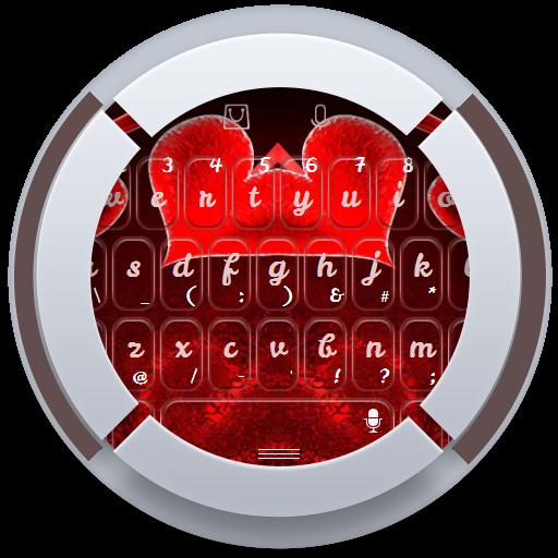レッドハーツキーボード 個人化 App LOGO-APP試玩