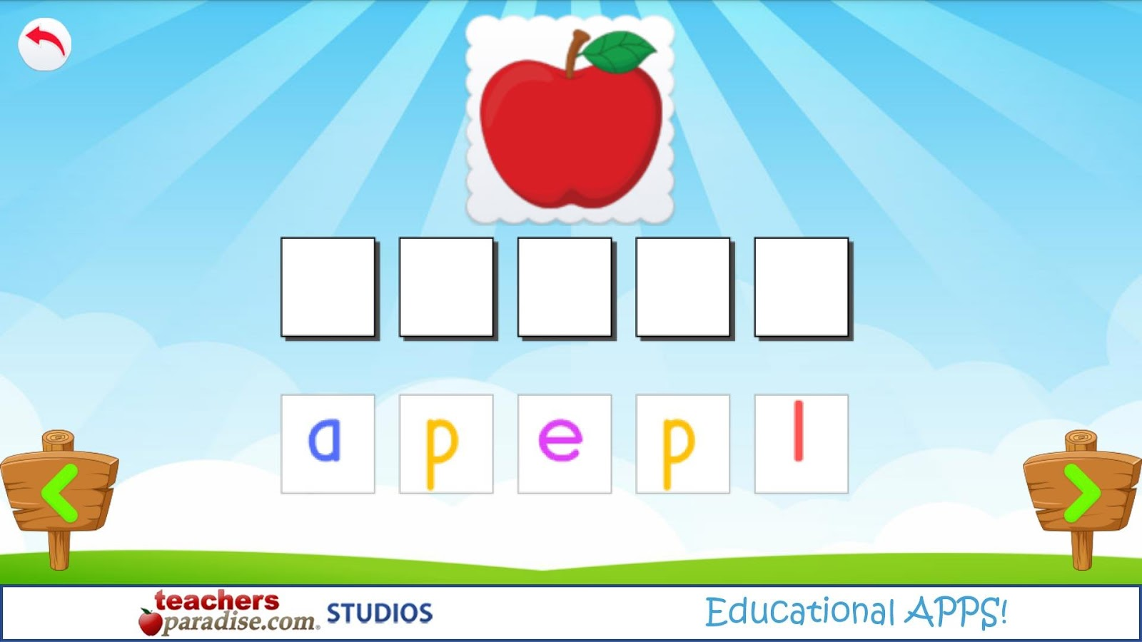 ABC- Reading Games for Kids- screenshot