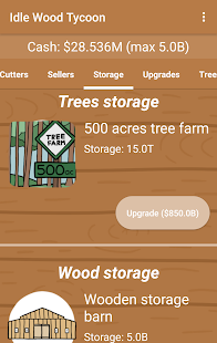 Idle Wood Tycoon- screenshot thumbnail