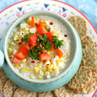 Easy Hot Corn Dip.