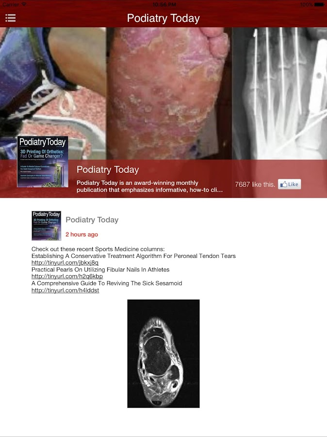 Podiatry Today- screenshot