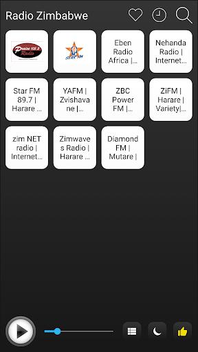 zimbabwe radio stations online - zimbabwe fm am screenshot 1