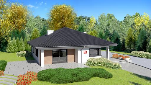 projekt Dom przy Makowej 3 bis