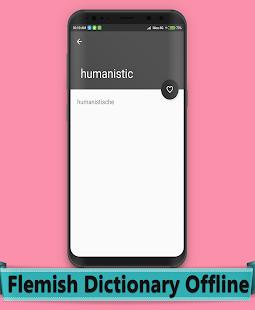 Flemish Dictionary Offline - náhled
