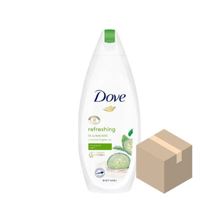 Dove Refreshing Duschgel 6x225 ml
