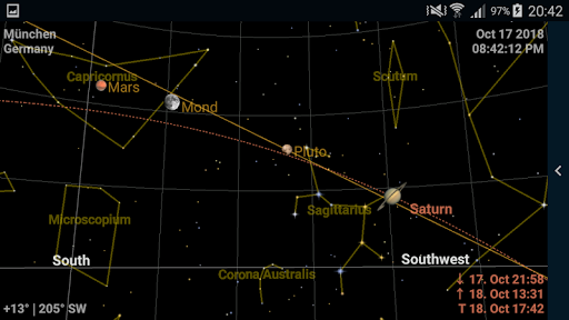 Screenshot for Astrolapp Live Planets and Sky Map in Hong Kong Play Store