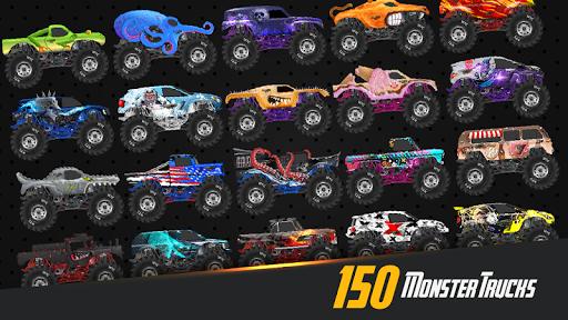 Monster Truck Crot: Monster truck racing car games painmod.com screenshots 2