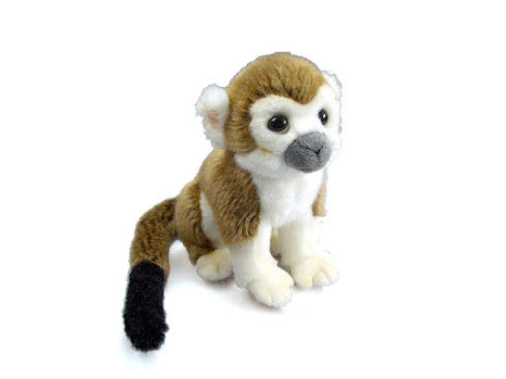 Stuffed monkey squirrel
