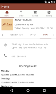 Ahad Tandoori- screenshot thumbnail
