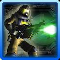 Laser Gun Shooting 3D icon