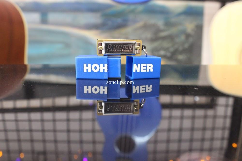 Kèn Harmonica Mini - Hohner Mini Harp
