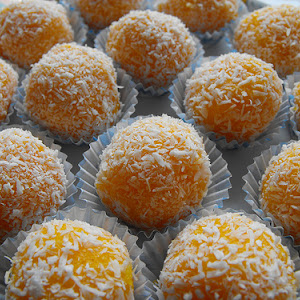 Carrot and Coconut Balls