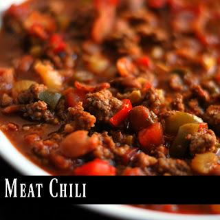 Three Meat Chili.