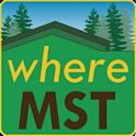 Where MST icon
