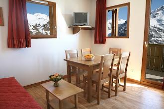Photo: Coin salle à manger d'un appartement 2 pièces pour 4 personnes