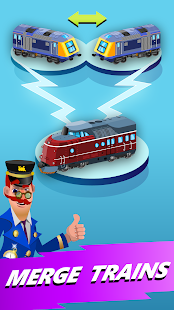 Train Merger - Best Idle Game Screenshot