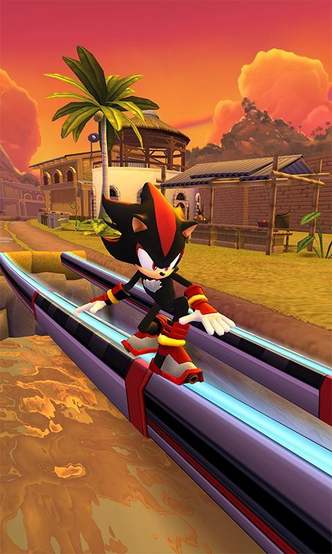 Screenshot 2 Sonic Dash 2: Sonic Boom 1.8.0 APK MOD