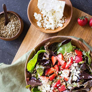 Easy Strawberry Balsamic Salad.
