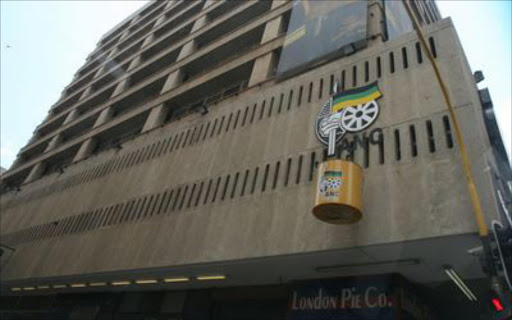 Luthuli House, the ANC's headquarters in Johannesburg. File photo