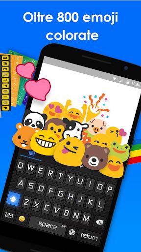 Teclado Arco-Íris - Emoji