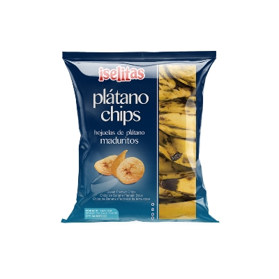 snack iselitas platano chips madurito 34gr