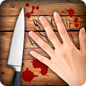 Knife and Fingers Game icon
