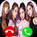 Blackpink fake Call icon